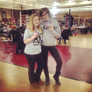 Gold Medals: Elle Bisbee and Mara Cash