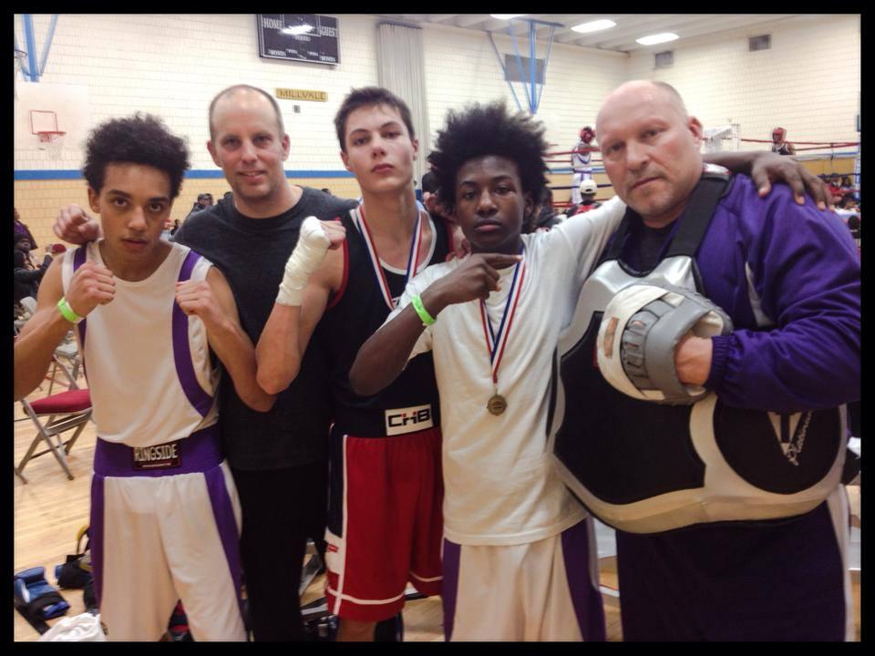 Javier, Coach Jeff, Sjors, Darius & Coach Tim